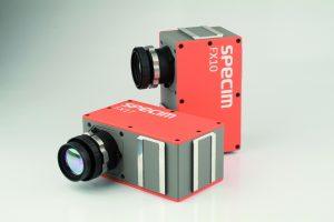 Hyperspektralkameras mit integriertem Spektrograph