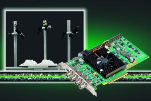 Der Matrox Radient eV-CXP für 3D-Profiling ist der erste Framegrabber, der on-board 3D-Profiling ermöglicht. (Bild: Rauscher GmbH)