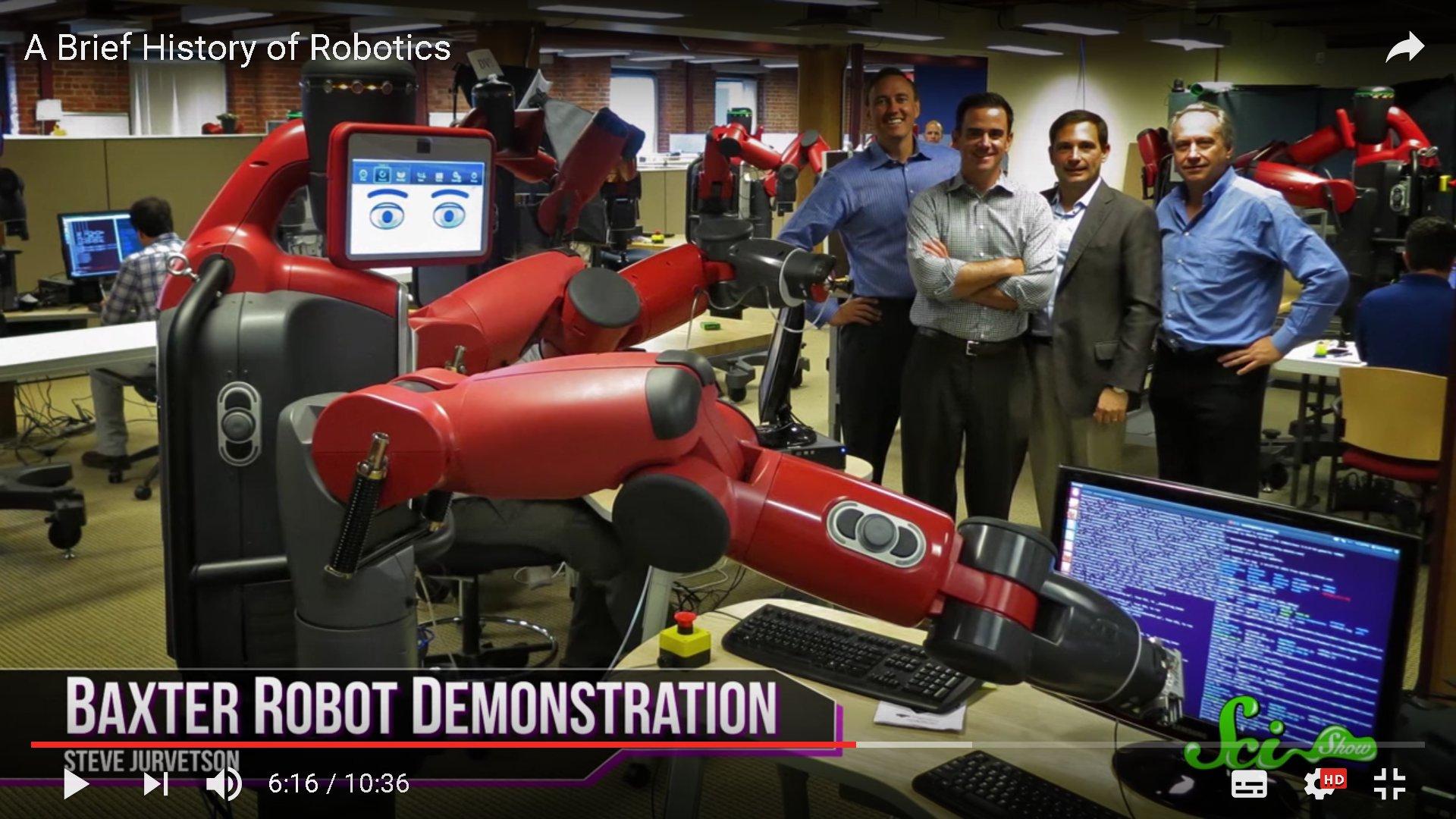 Video: Die Geschichte der Robotik