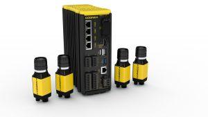 Der Controller In-Sight VC200 für Multi-Smart-Kamera-Systeme erlaubt den Anschluss von vier Smart-Kameras. (Bild: Cognex Germany Inc.)