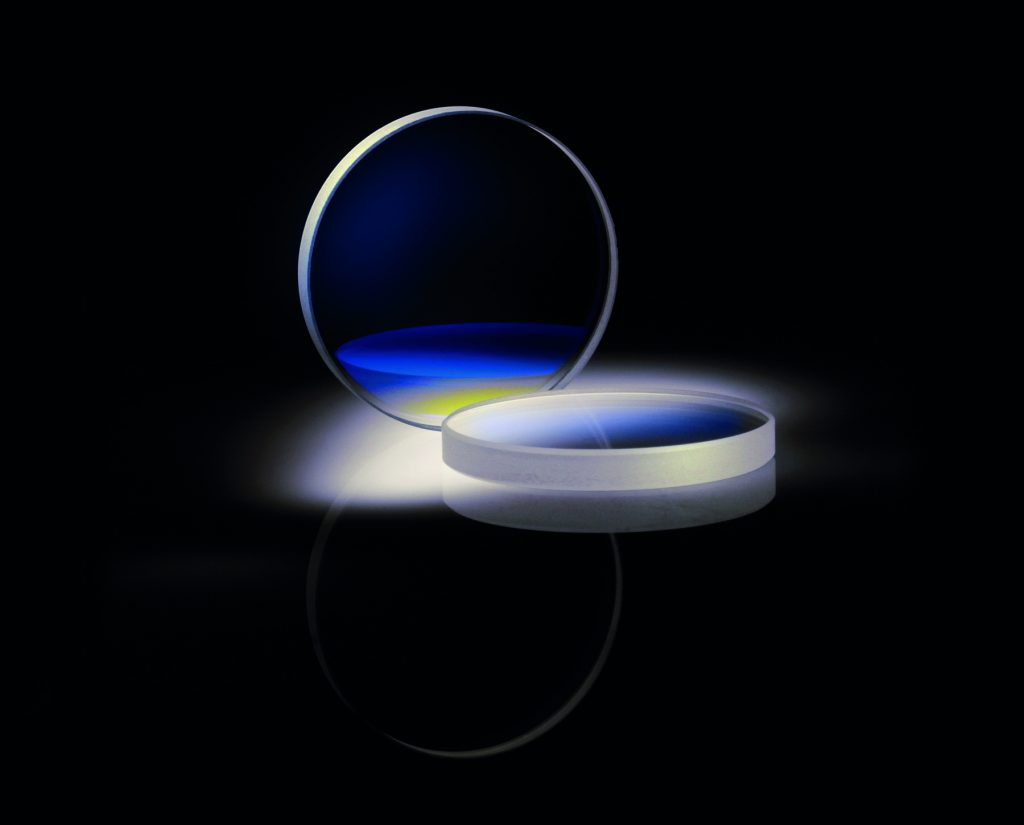 UV-Langpassfilter in drei Größen