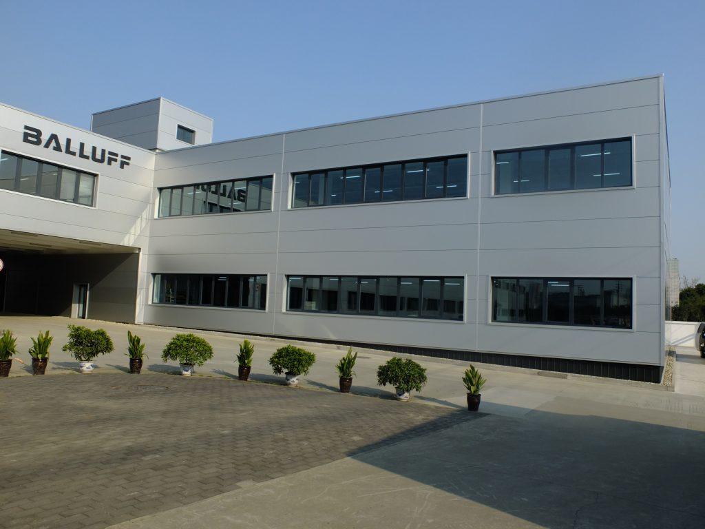 Balluff eröffnet Erweiterungsbau in China
