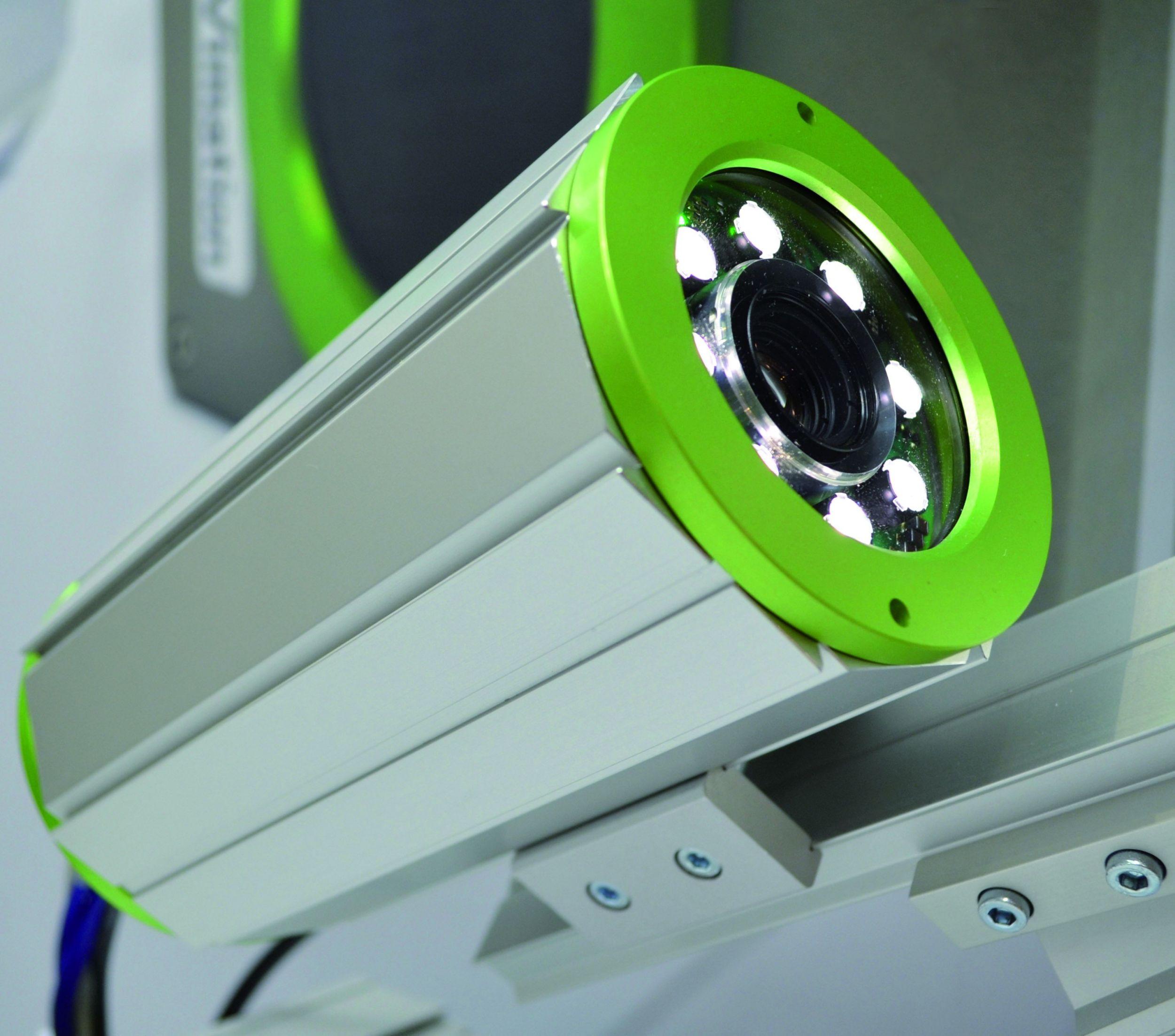 LED-Ringlicht in Schutzgehäuse