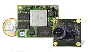 Phycore i.MX6 Mikrocontrollermodul mit phyCam-Kamera (Bild: Phytec Messtechnik GmbH)