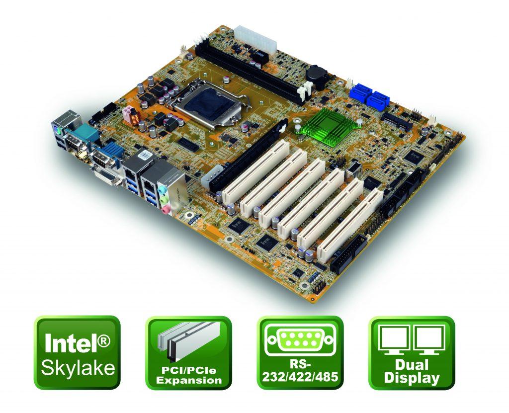 Sechs PCI-Slots mit Skylake Perforance