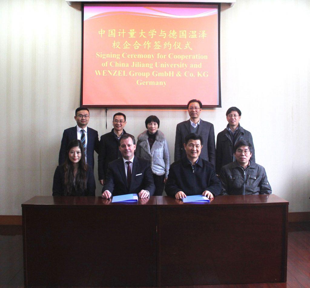 Wenzel kooperiert mit asiatischen Universitäten