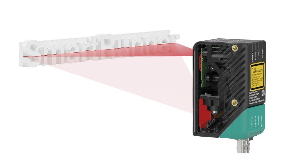 Lichtschnitt- und Vision-Sensor in einem Gerät