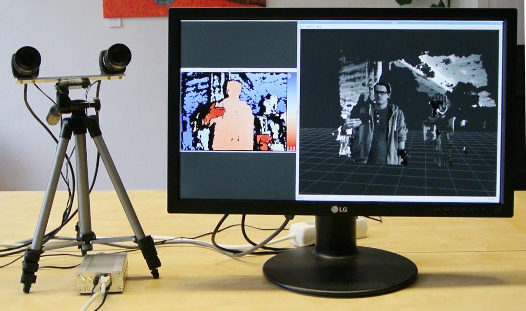 Stereoskopischer Tiefensensor