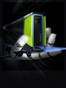 Die 3D-Lasersensoren Ecco 95 vereinen Full HD verarbeitung mit Scangeschwindigkeiten von 10kHz, 15Mio. 3D-Punkten pro Sekunde und einer echtzeitf?higen Daten?bertragung. . (Bild: SmartRay GmbH)
