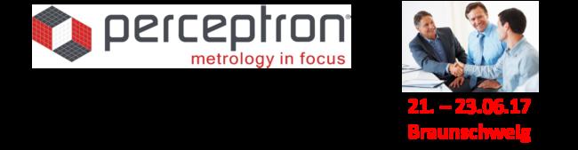 Perceptron-Anwendertreffen 2017
