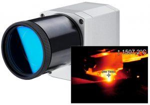 IR-Kamera für die Metallindustrie bis 2.000°C