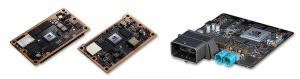 Nvidia-Hardware wie der TX1 (links), TX2 (Mitte) und Drive PX 2 (rechts) sind dank ihrer parallelen Rechnerarchitektur ideal, um Deep Learning Prozesse zu beschleunigen. (Bild: Flir Integrated Imaging Solutions, Inc.)