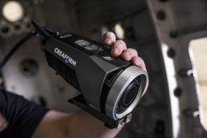 3D-Fotogrammetrie-Kamera mit visueller Projektion