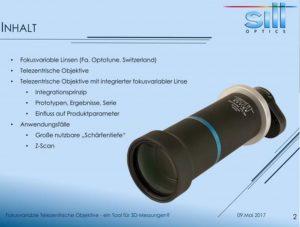 Video: Fokusvariable Linsen für 3D-Messungen?