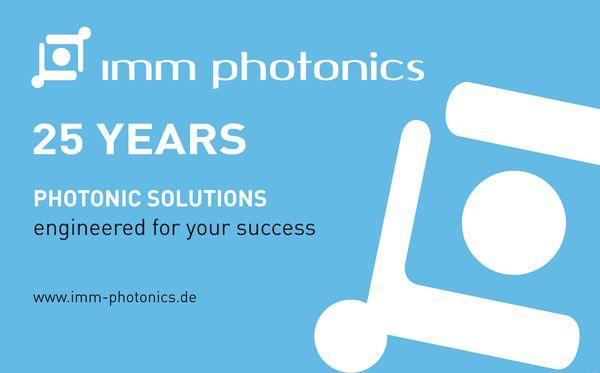 IMM Photonics feiert 25-jähriges Jubiläum