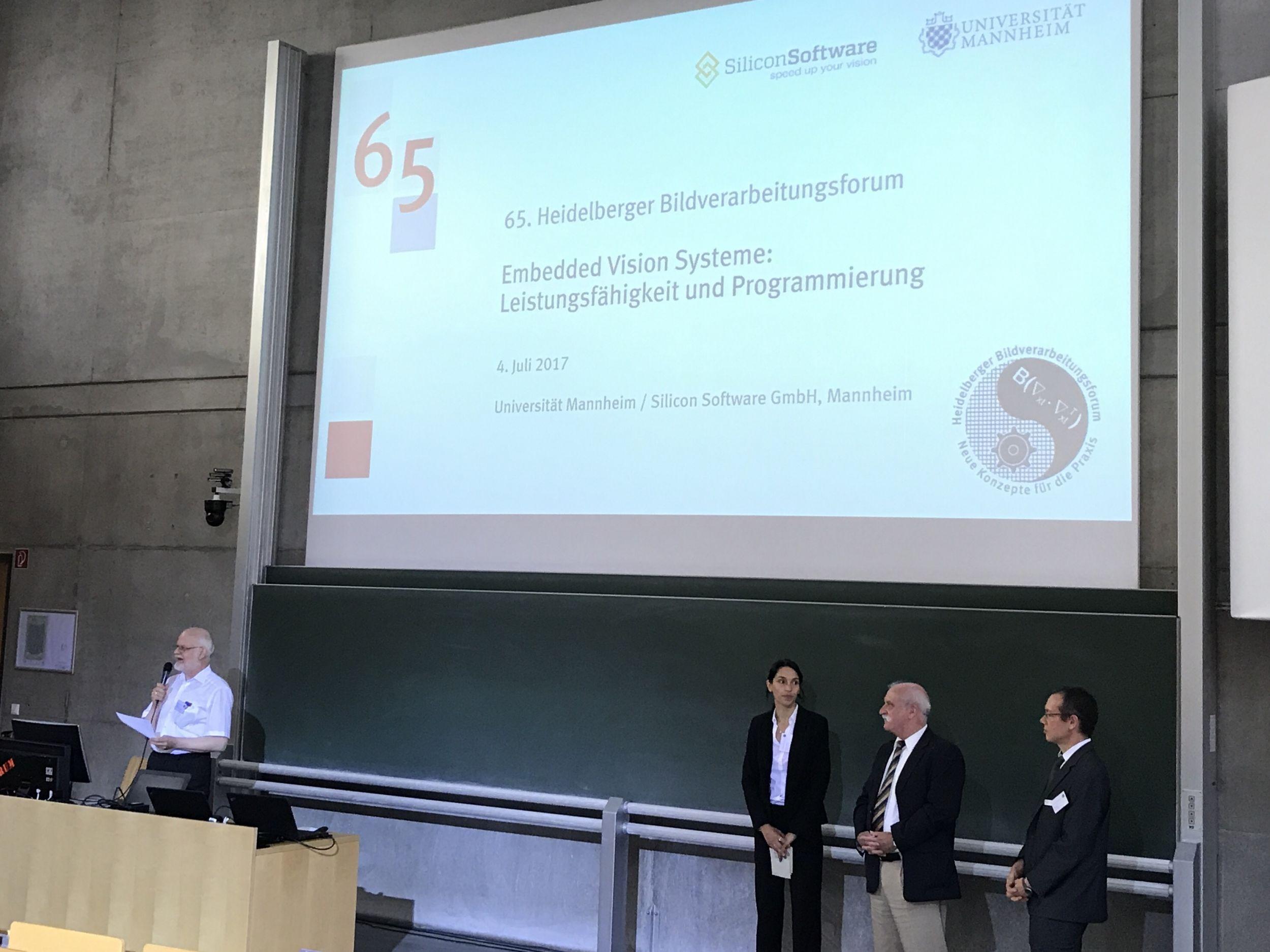 Embedded Vision Veranstaltung mit 150 Teilnehmern