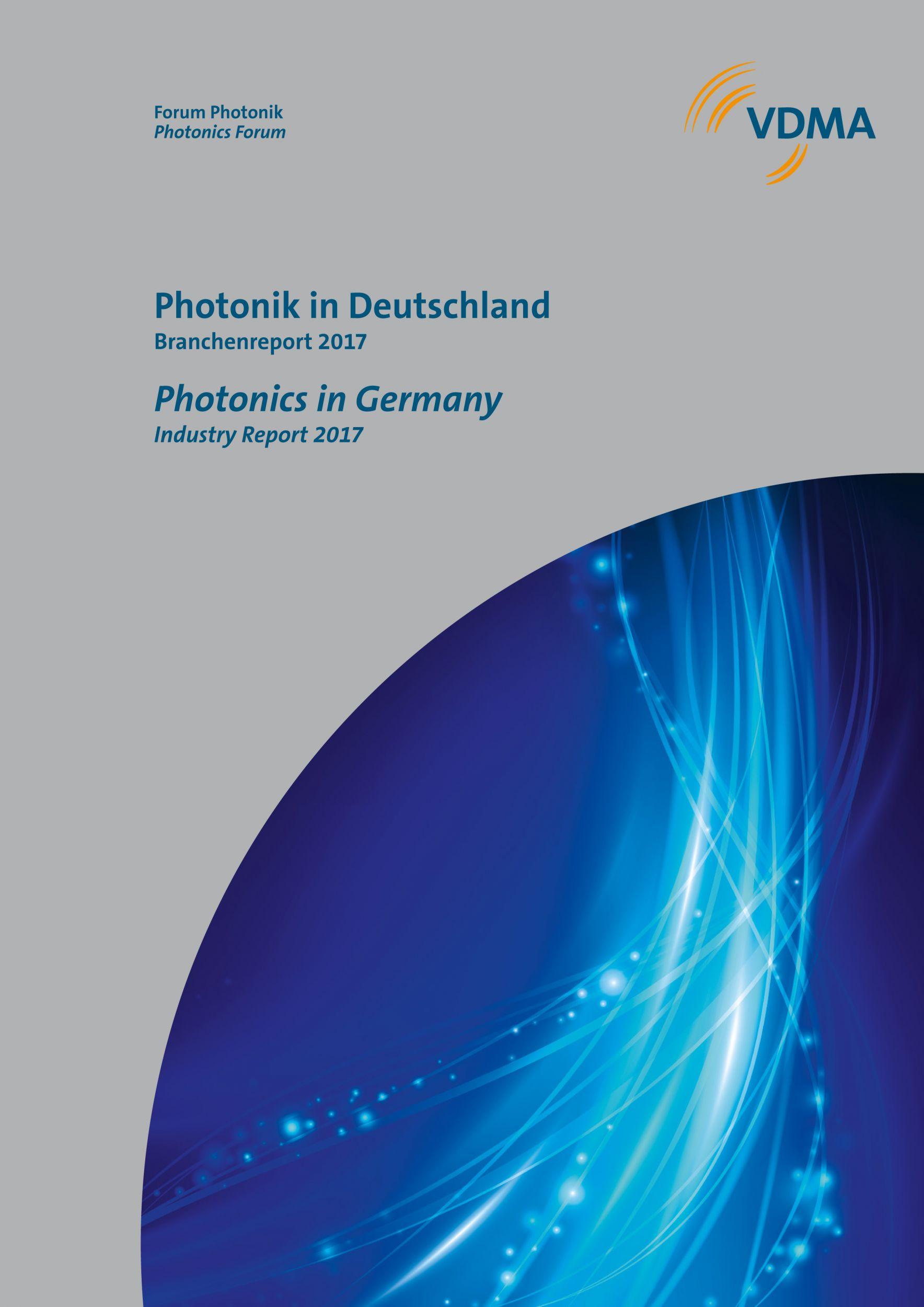 Photonik in Deutschland – Branchenreport 2017