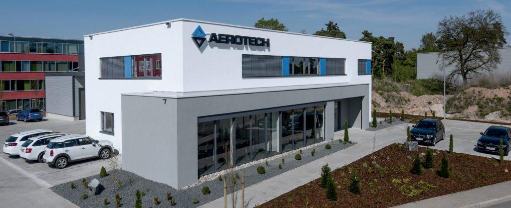 Neues Geschäftsgebäude bei Aerotech
