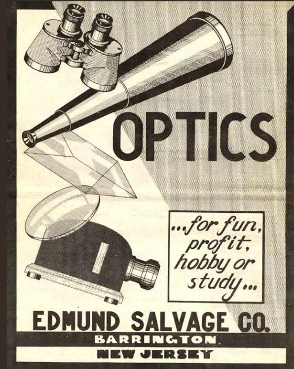 Historischer Edmund Optics Katalog