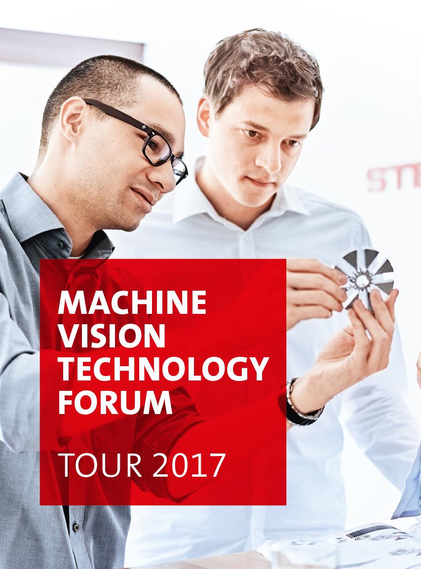 Technologieforum Bildverarbeitung Europatour