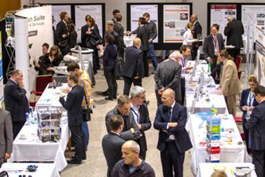 Table-Top Ausstellung mit namhaften Ausstellern