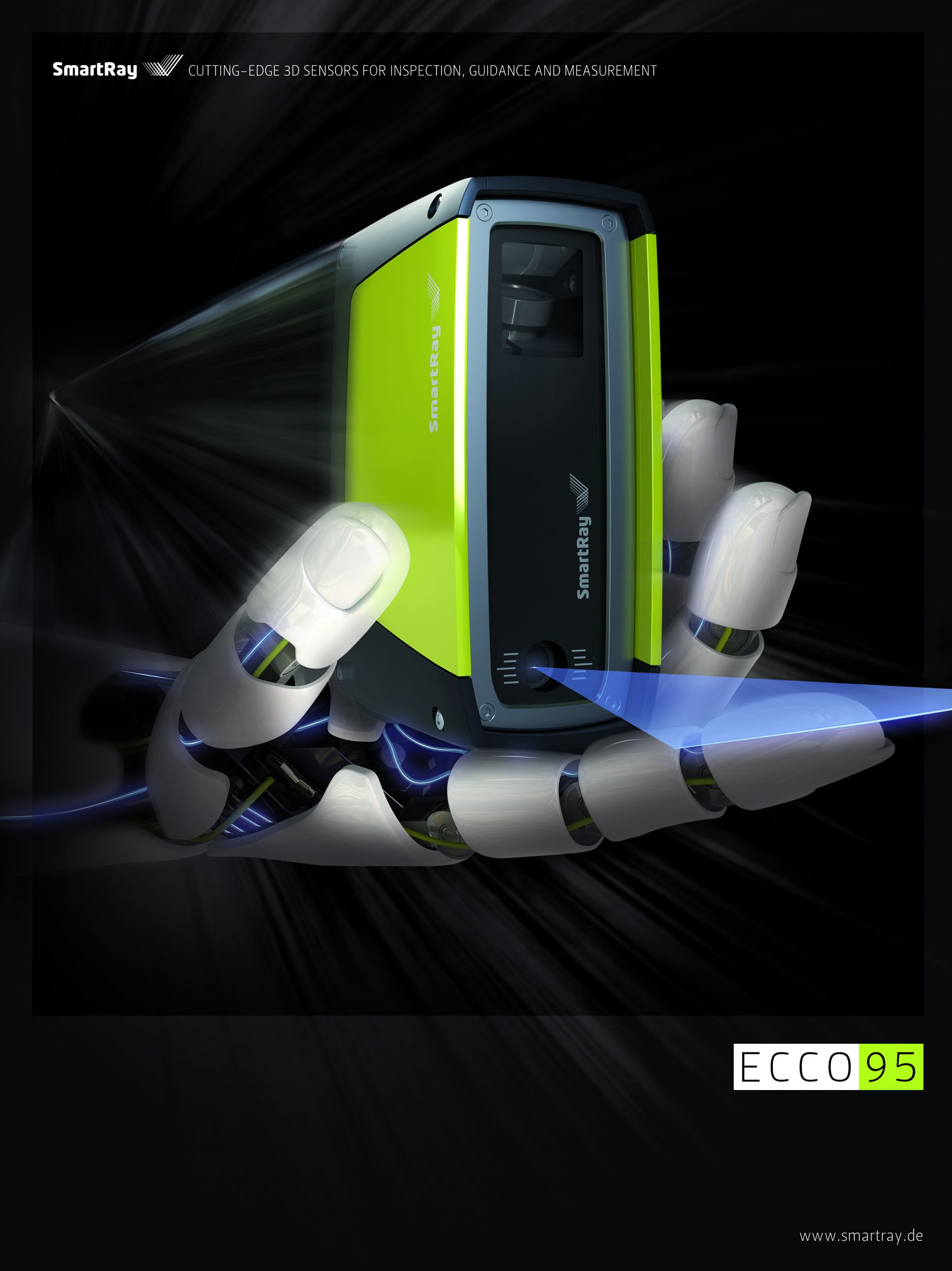 High Definition in High Speed: Die neue ECCO 95 Serie von SmartRay