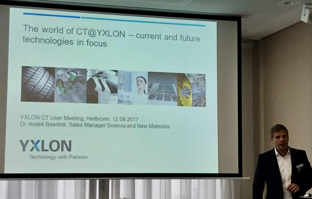 CT-Anwendertreffen von Yxlon