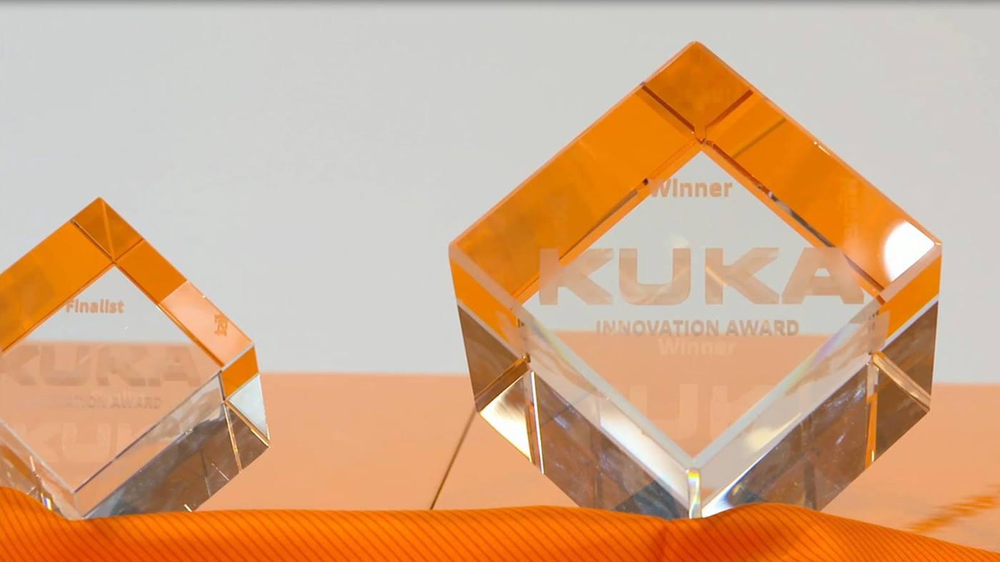Finalisten des Kuka Innovation Award 2018