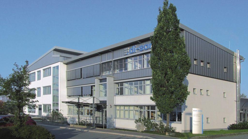 Di-soric nimmt neues Gebäude in Betrieb