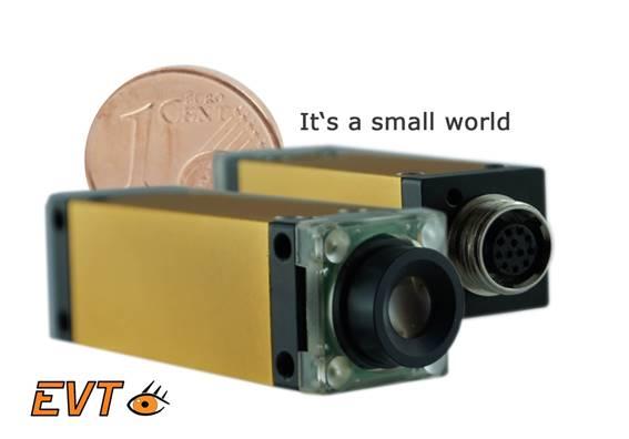 Extrem kleine intelligente Kamera