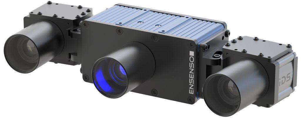 Das Modell Ensenso X36 FA ist mit dem FlexView2-Projektor ausgestattet, der für eine bessere räumliche Auflösung bei dunklen, glänzenden oder spiegelnden Oberflächen sorgt. (Bild: IDS Imaging Development Systems GmbH)