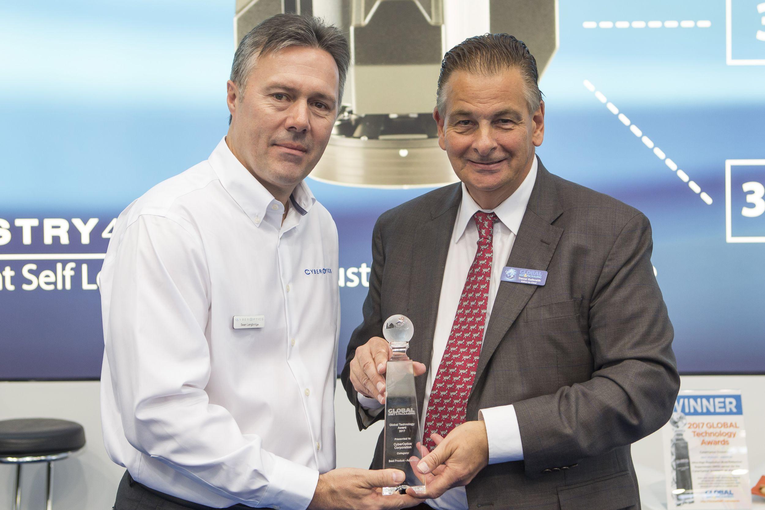 CyberOptics erhält Global Technology Award
