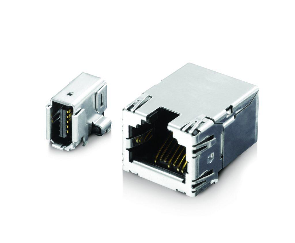 Die Phoenix Kamera bietet optional den neuen ix Industrial Anschluss von Hirose und Harting an, der 70% kleiner als der herkömmliche RJ45-Anschluss ist. (Bild: Lucid Vision Labs Inc)