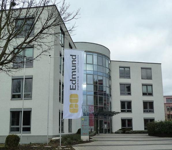 Umzug der Edmund Optics GmbH