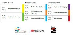 Das Control Vision Talks Vortragsforum wird dieses Jahr bereits zum dritten Mal zusammen von EMVA, inVISION und P.E.Schall auf der CONTROL 2018 in Stuttgart veranstaltet. (Bild: TeDo Verlag)