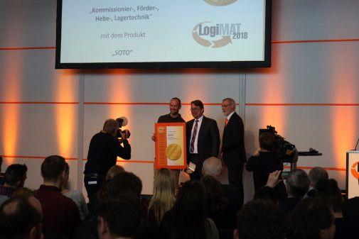 Magazino erhält Auszeichnung auf Logimat
