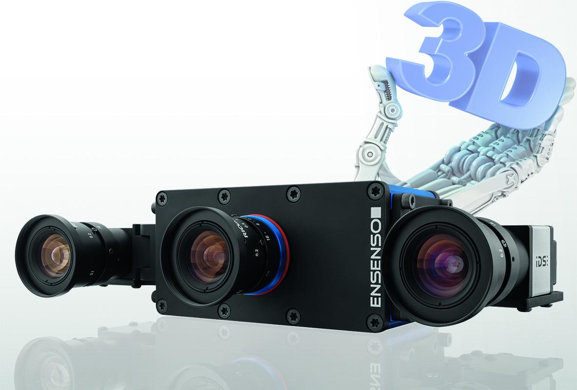 3D Vision: Ensenso X mit 5MP-Kameras und neuem SDK