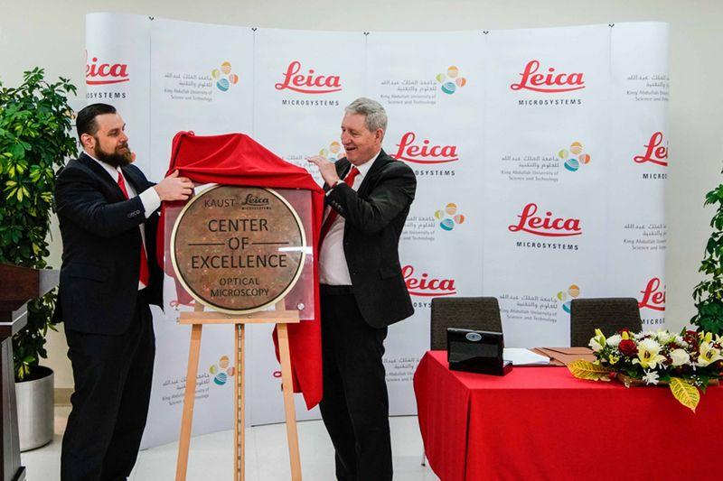 Kaust und Leica weihen Kompetenzzentrum ein
