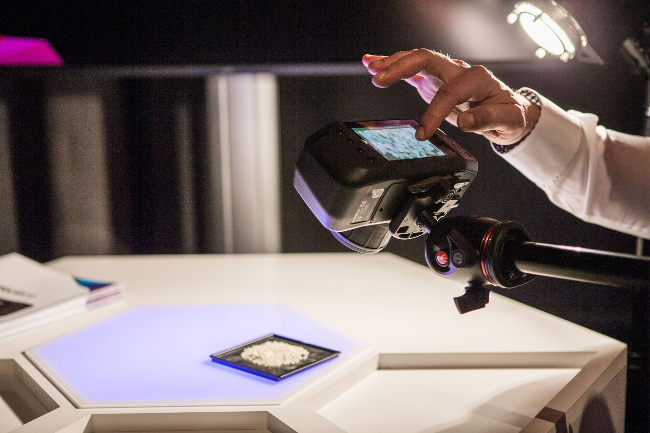 Hyperspectral goes mobile