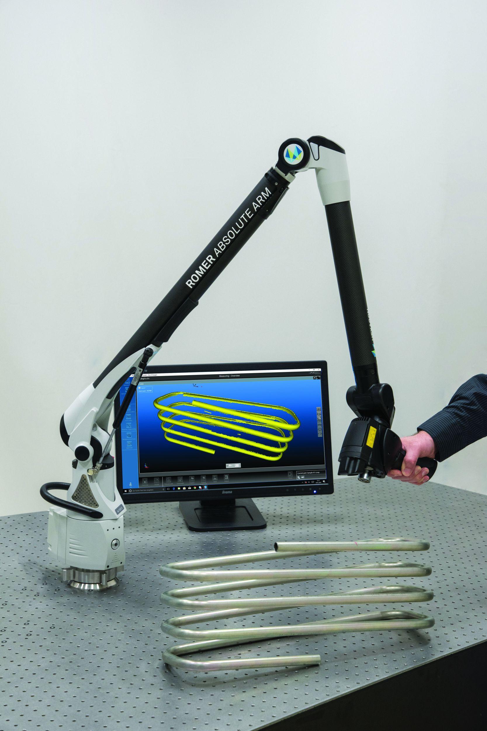 3D-Scans von Rohren und Drähten