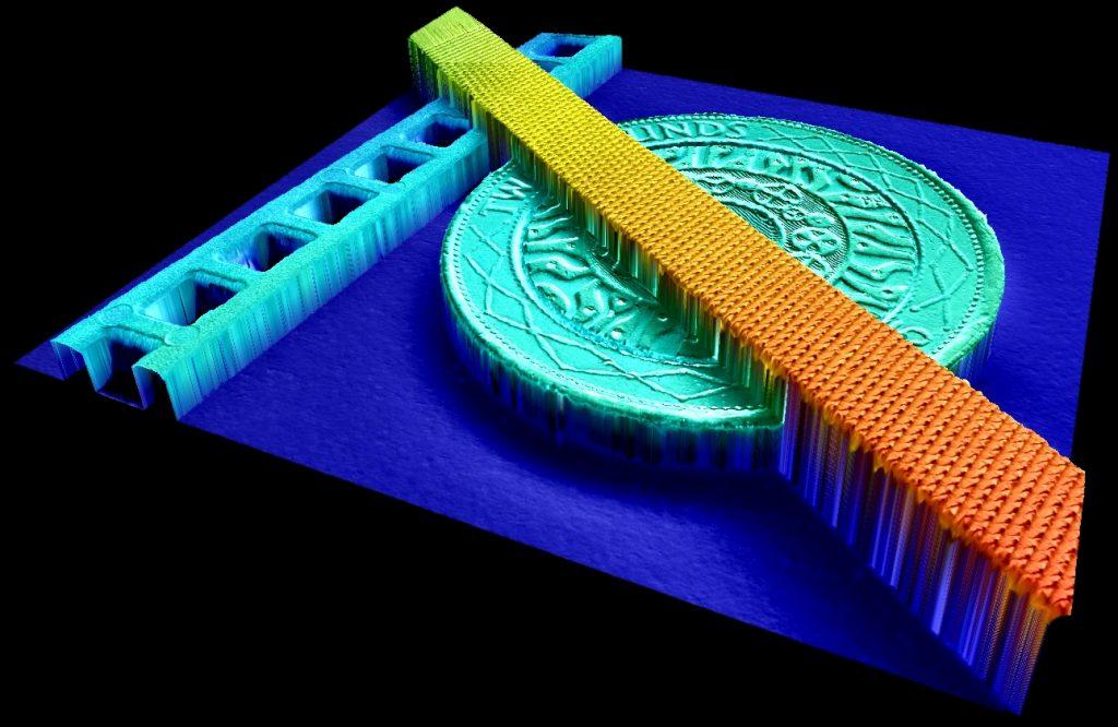Das ICI-3D-Modell liefert eine detailgenaue Tiefenrekonstruktion. (Bild: AIT Austrian Institute of Technology GmbH)