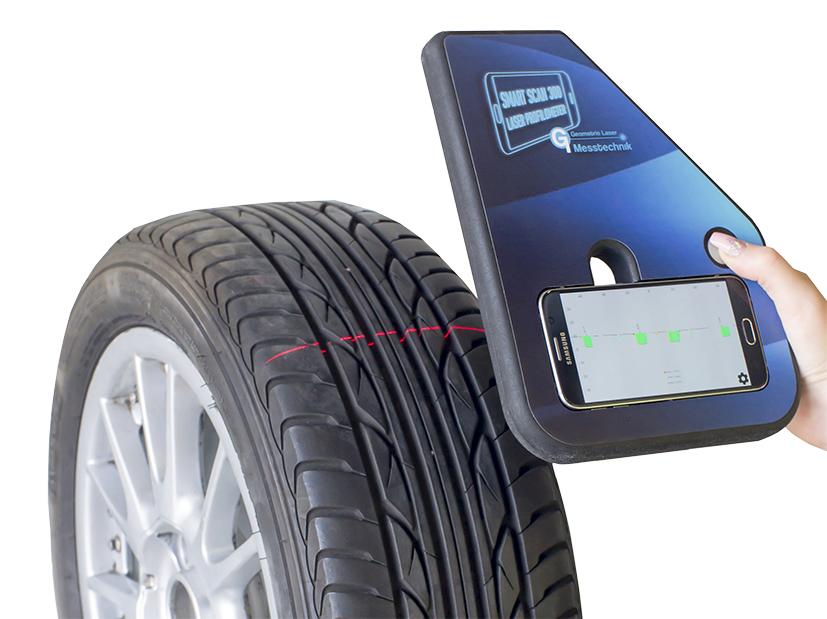 2D-Profilometer per Smartphone