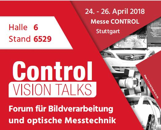 Kostenfreies Vortragsforum auf der Control