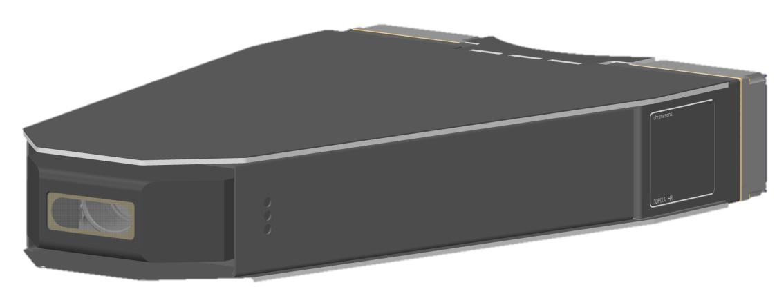 3D-Stereo-Zeilen-Farbkamera mit 2.5µm optischer Auflösung