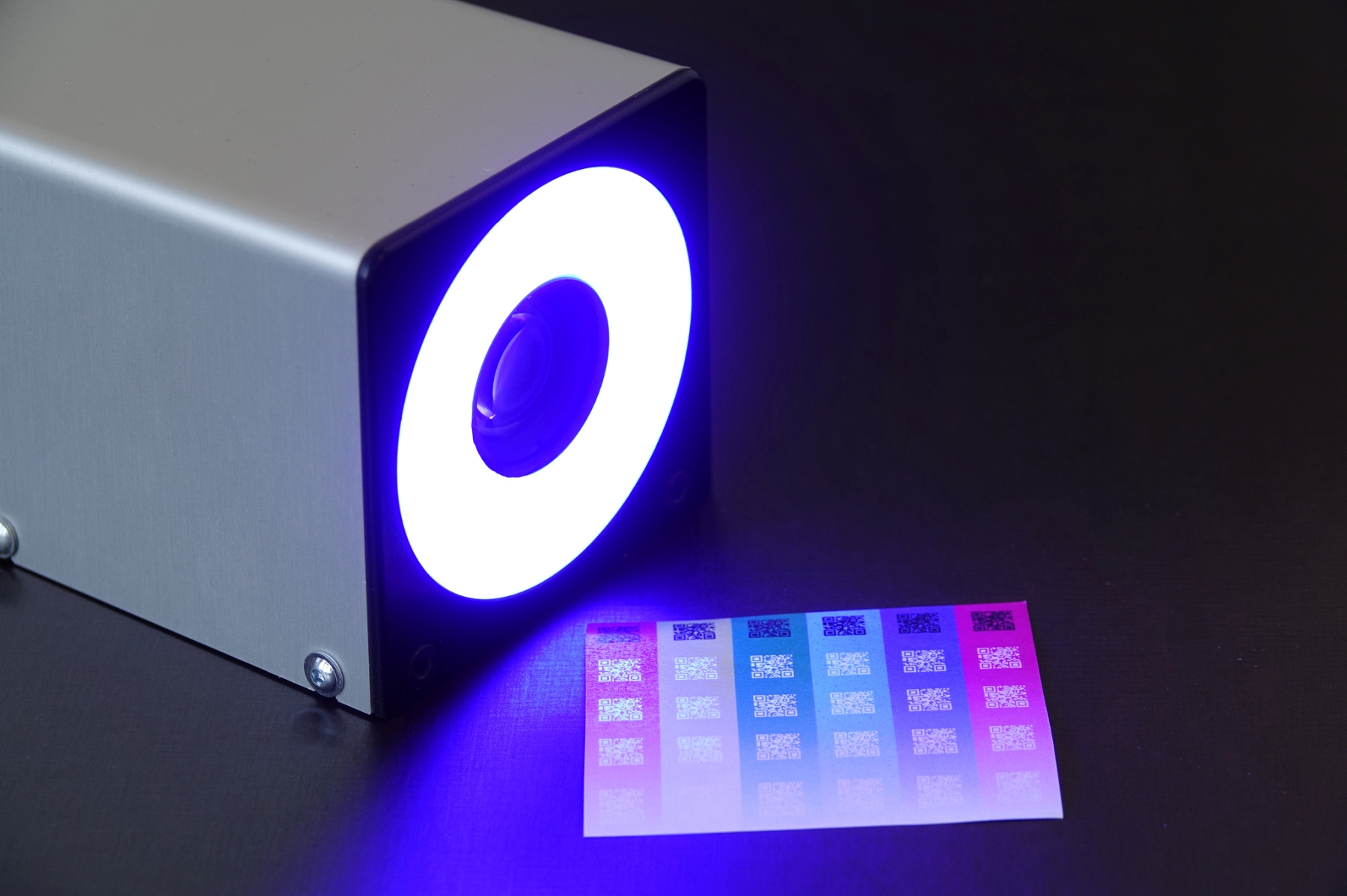 Visionsystem mit RGB-Beleuchtung