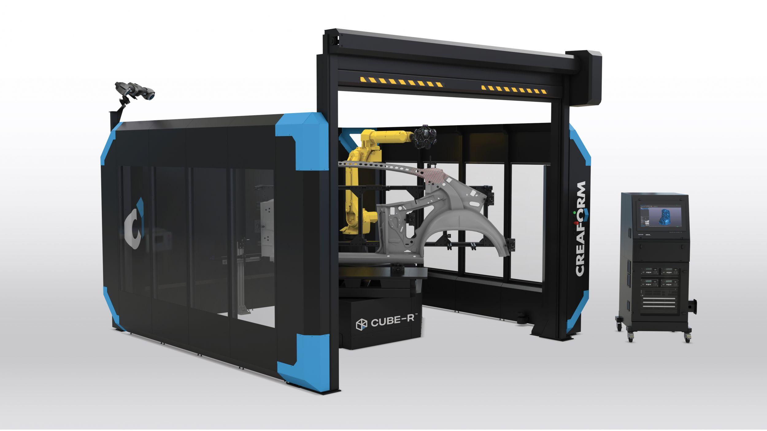 3D-Inline-Scan-Messzelle