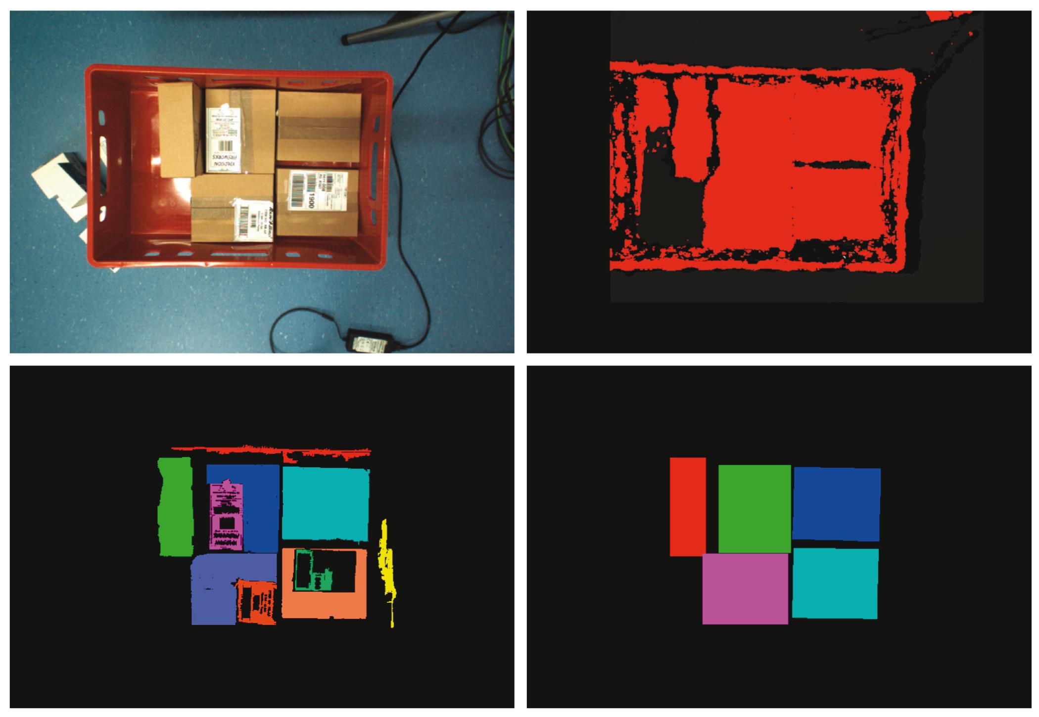 Sichere Box-Erkennung mit 3D-Kameras