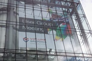 Volume Graphics User Group Meeting 2018