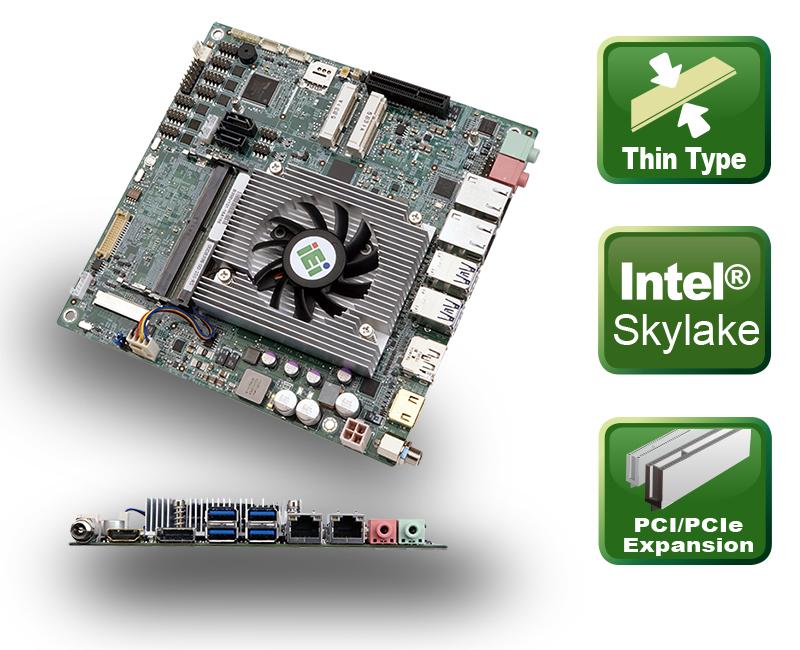 Flaches Mini-ITX Board