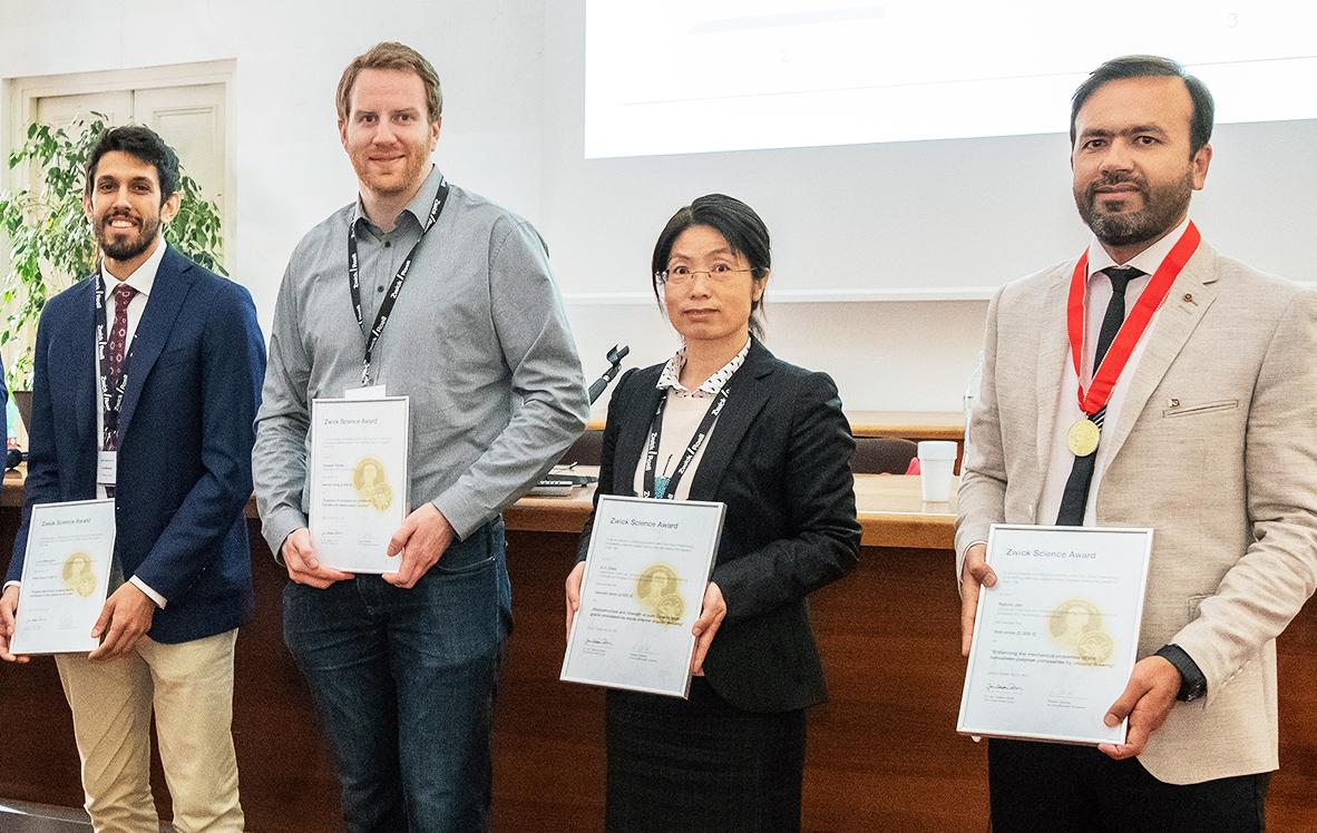 Zwick Science Award verliehen